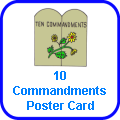 10 Commandments Giant Poster