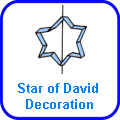 Star of David Decoration