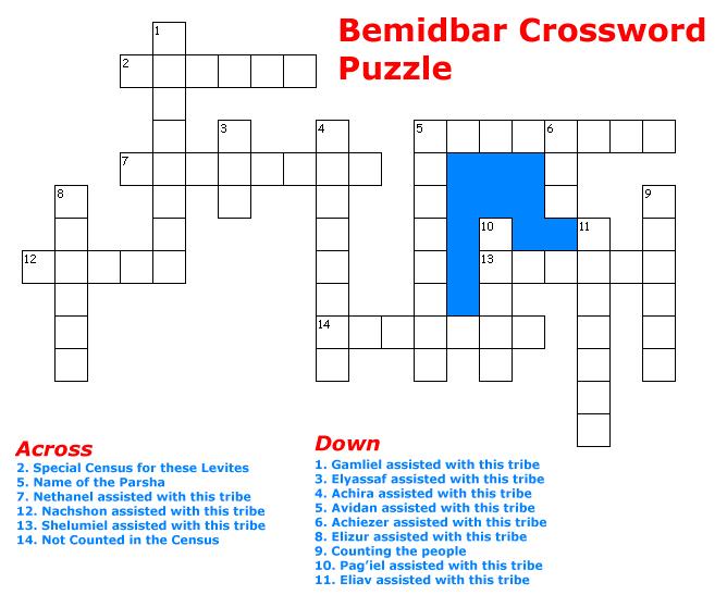 BeMidbar Puzzle