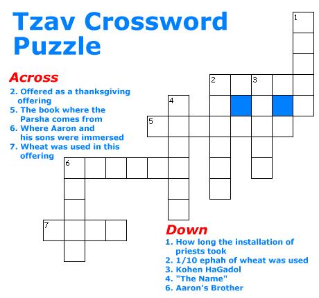 Tzav Puzzle